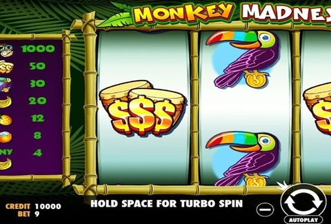 Cara Bermain Game Slots Monkey Madness