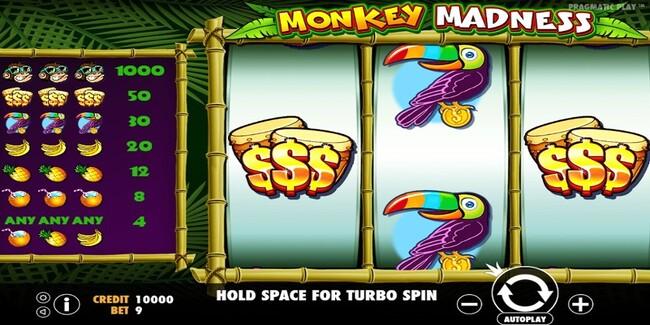 Cara Bermain Game Slots Monkey Madness